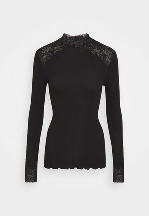TURTLENECK - Long sleeved top - black