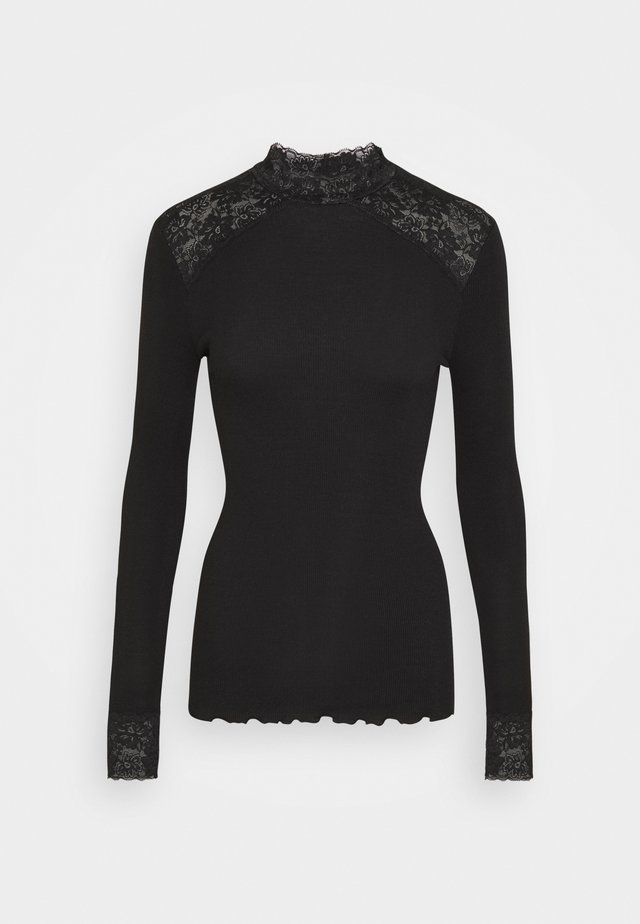 TURTLENECK - Longsleeve - black