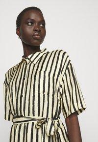 Sand Copenhagen - PERSIS - Shirt dress - yellow - 3