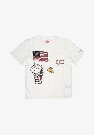 SNOOPY - T-shirt print - bianco