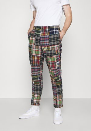 FLAT PANT - Spodnie materiałowe - multicoloured