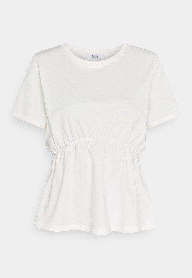 ONLANDREA DETAIL - T-Shirt print - cloud dancer