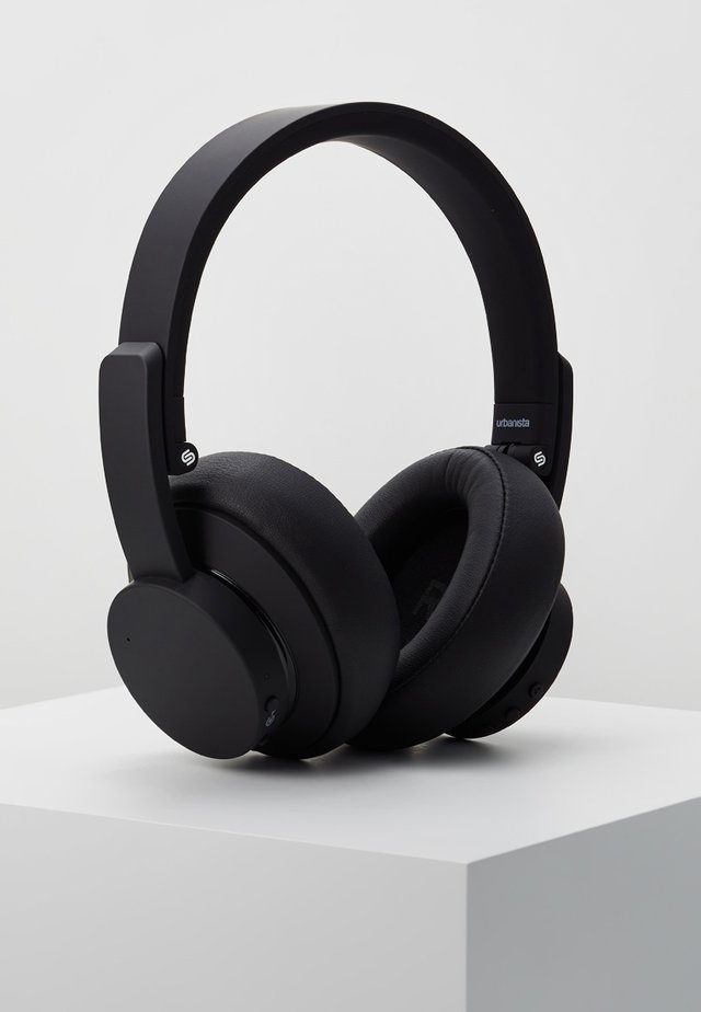 NEW YORK NOISE CANCELLING BLUETOOTH - Cuffie - dark clown black