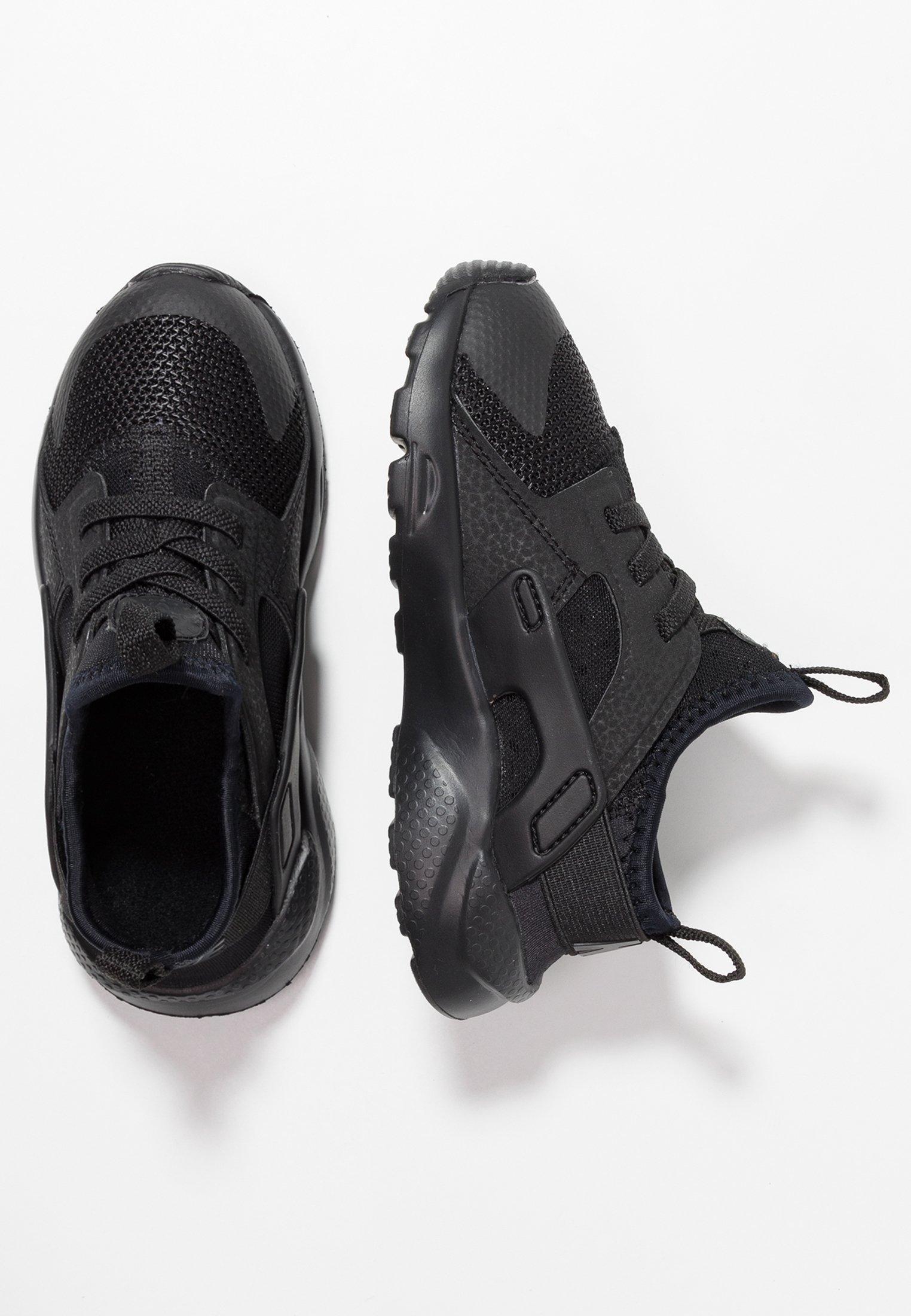 HUARACHE RUN ULTRA - Baby shoes - black