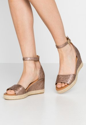 Espadrilles - rose metallic