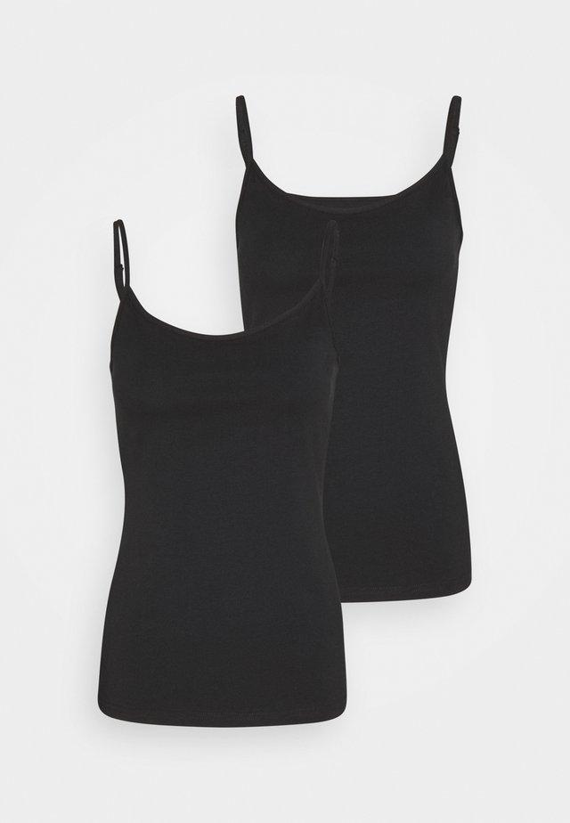 2 PACK - Débardeur - black