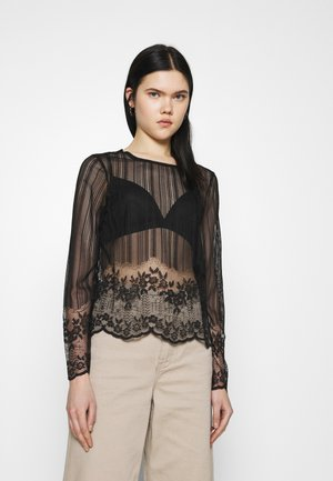PCISAKY  - Long sleeved top - black