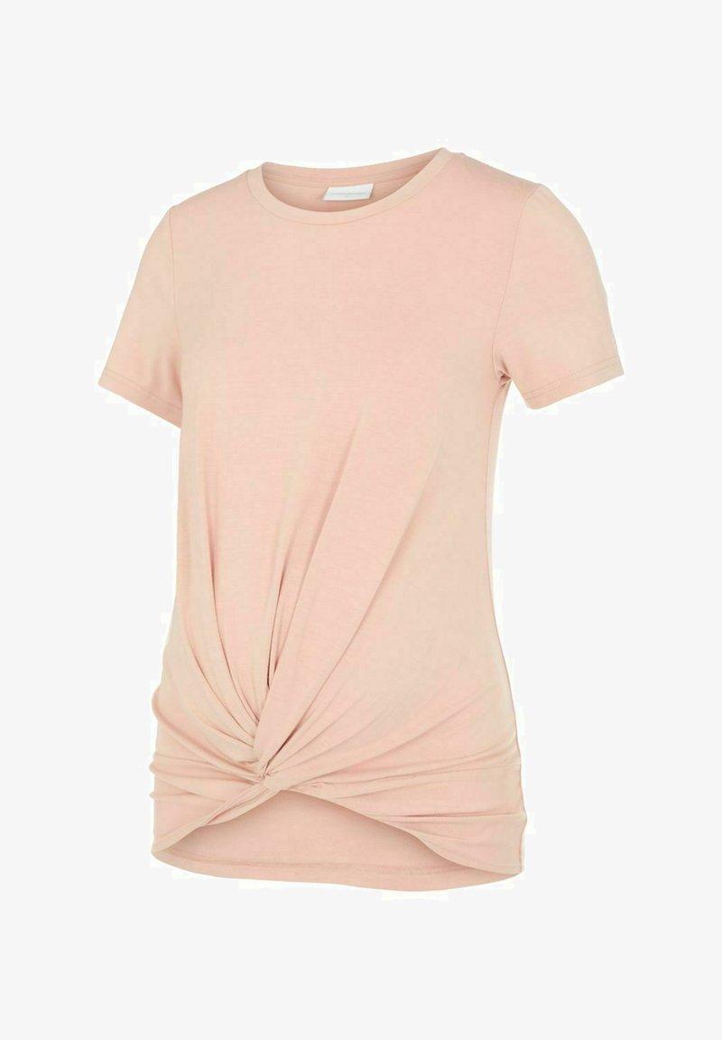 MAMALICIOUS - Basic T-shirt - misty rose
