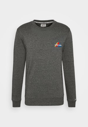 MOUNTAIN GRAPHIC CREW - Sweatshirt - black heather
