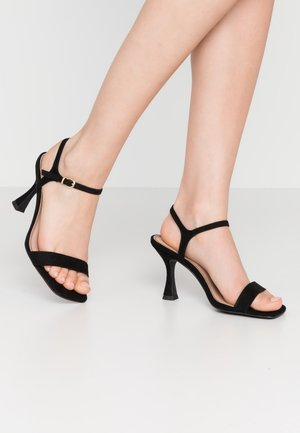 VARINA - High heeled sandals - black