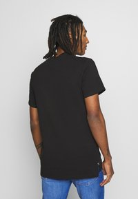 G-Star - GSRAW GR R T S\S - Camiseta estampada - dark black - 2