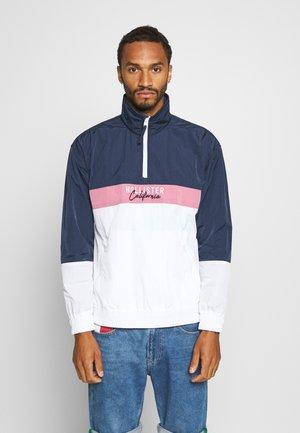 Summer jacket - navy/pink/white