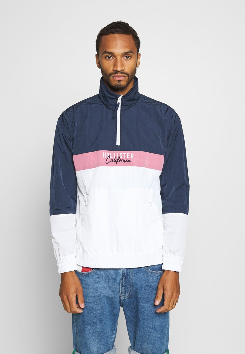 Hollister Co. - Summer jacket - navy/pink/white