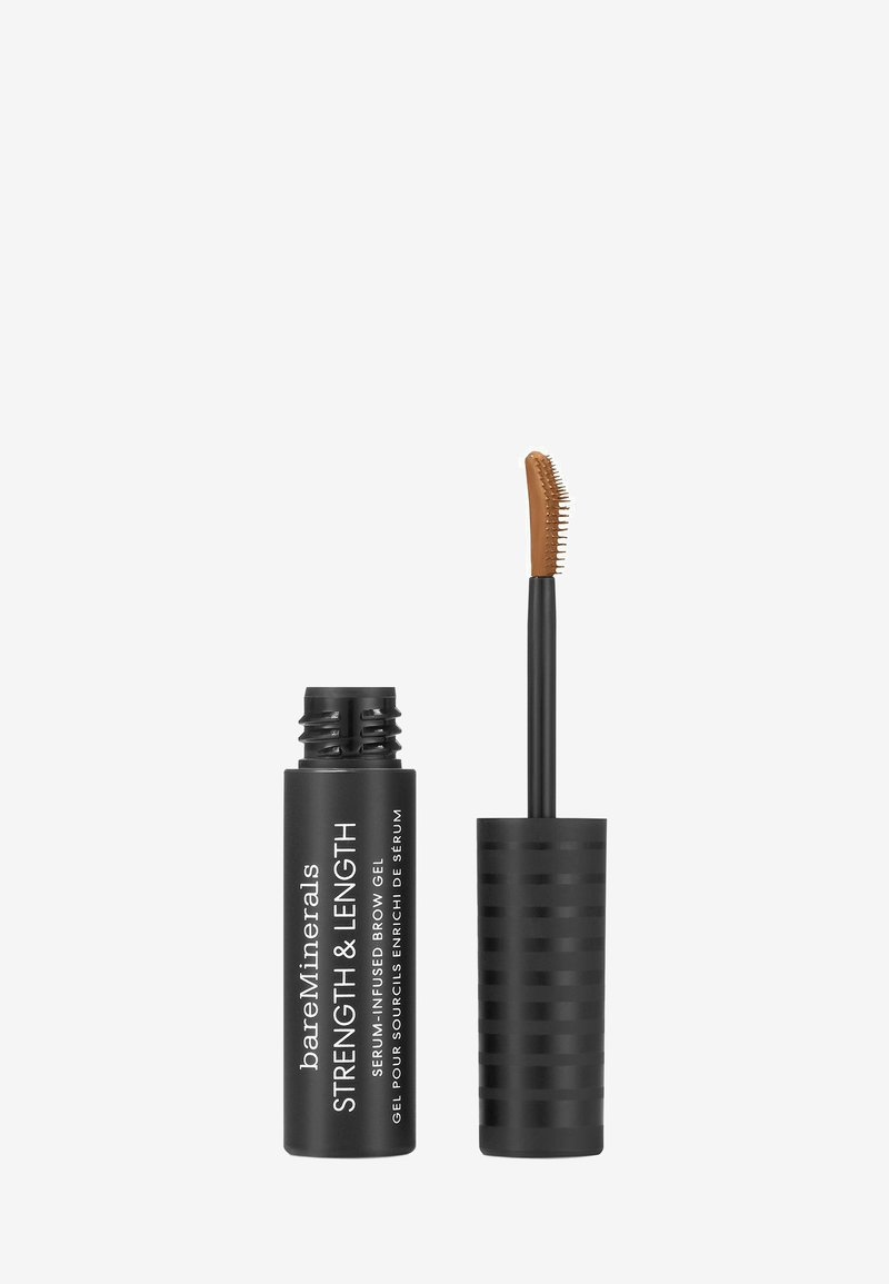 bareMinerals - STRENGTH & LENGTH BROW GEL - Eyebrow gel - chestnut