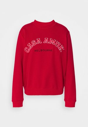 VARSITY JUMPER - Sweatshirt - chilli