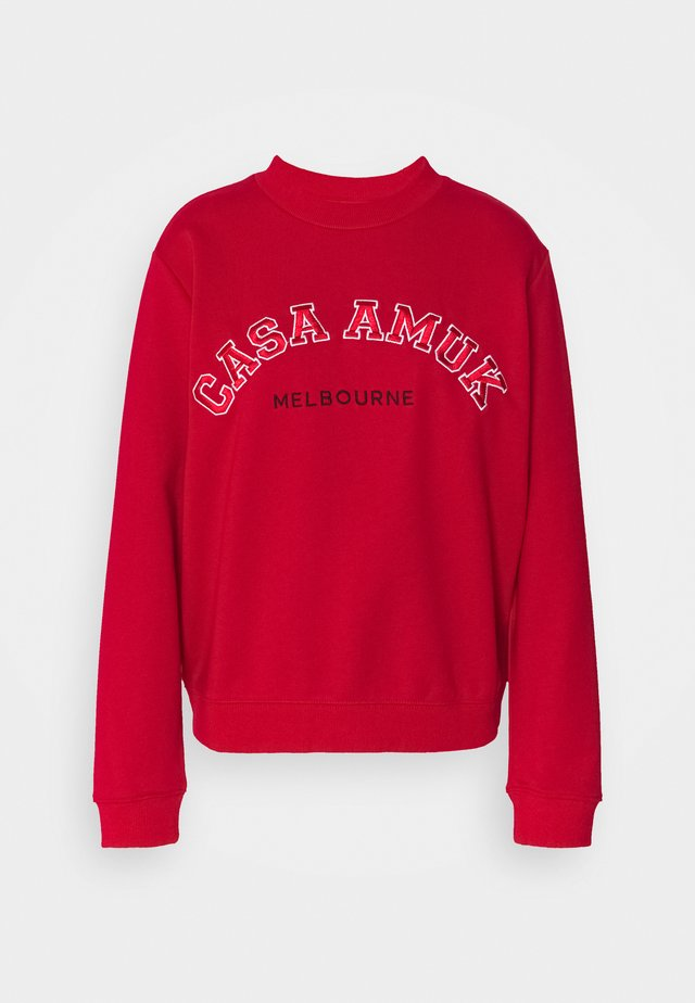 VARSITY JUMPER - Sweater - chilli