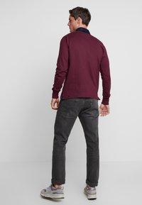 GANT - THE ORIGINAL HEAVY RUGGER - Polo shirt - port red - 2