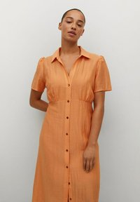 Violeta by Mango - Skjortklänning - orange - 3