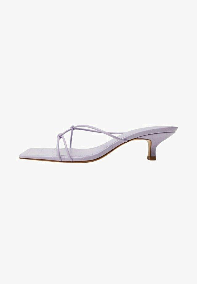SIMILAR - Sandals - lila