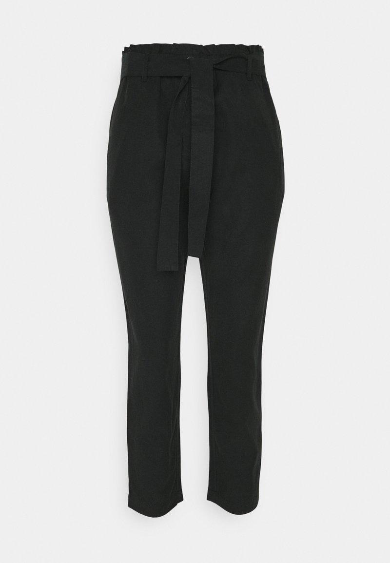 Marc O'Polo - WOVEN PANTS - Trousers - dark atlantic