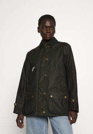 ALEXA CHUNG X BARBOUR BENEDICT - Short coat - sage/fern/rustic