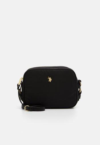 HOUSTON CROSSBODY BAG - Torba na ramię - black