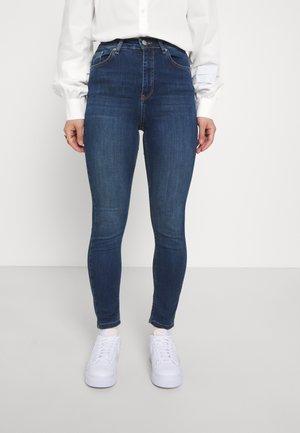 HIGH WAIST - Skinny džíny - dark blue