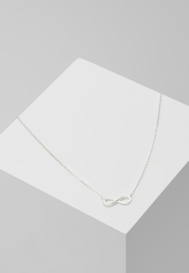 INFINITY NECKLACE - Halsband -  silver-coloured