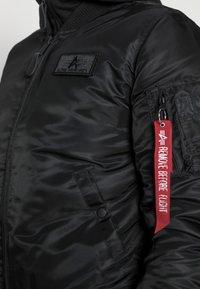 Alpha Industries - TEC BACKPRINT EXCLUSIV - Bomber Jacket - black - 4