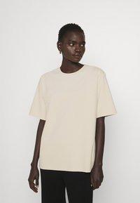 Filippa K - DAGNY - T-shirt - bas - ivory - 0