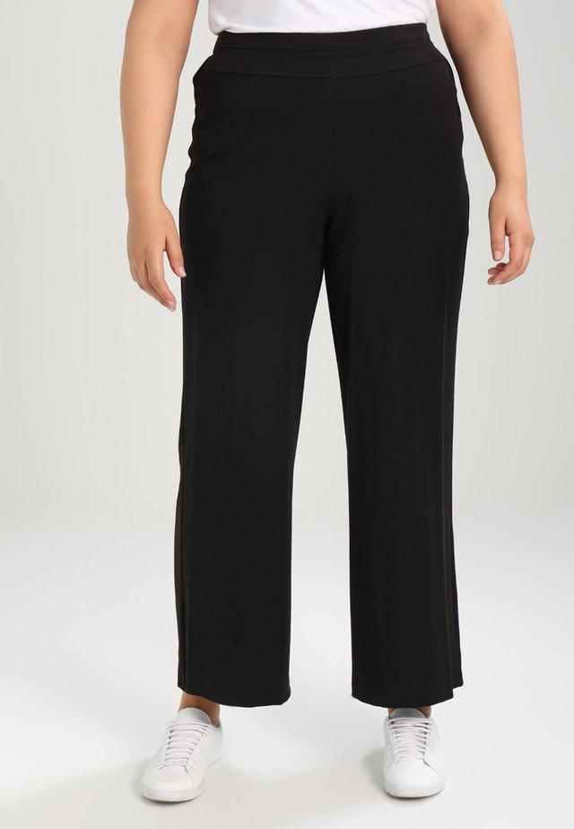 PICASSO WIDELEG - Pantaloni - black