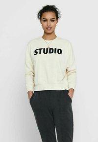 ONLY - Sweatshirt - ecru - 0