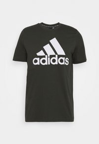 adidas Performance - ESSENTIALS SPORTS SHORT SLEEVE TEE - T-shirt med print - anthracite - 4