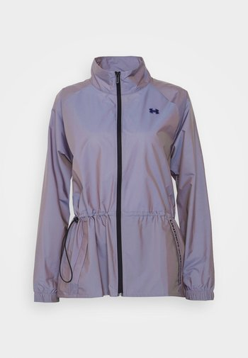 IRIDESCENT - Training jacket - silver-coloured