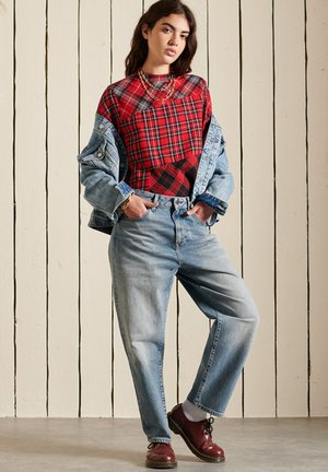 Blouse - red check