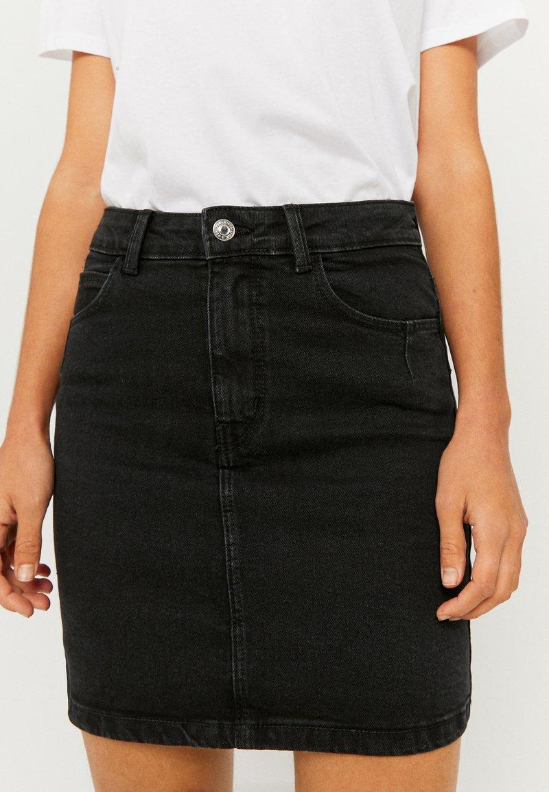 TALLY WEiJL - Denim skirt - black denim