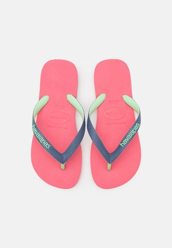 TOP MIX UNISEX - T-bar sandals - pink porcelain