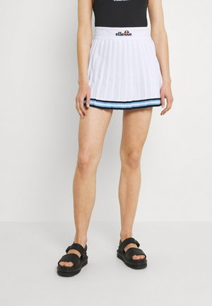 SKATE SKIRT - Minifalda - white