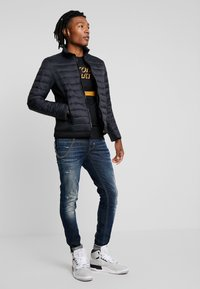Antony Morato - LOGO PLAQUETTE ON CHEST - Light jacket - black - 1