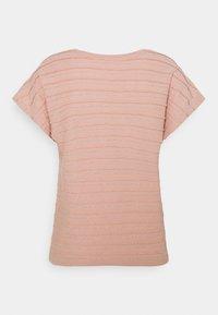 ONLY - ONLMILLIE LIFE GLITTER - Print T-shirt - misty rose/silver - 1