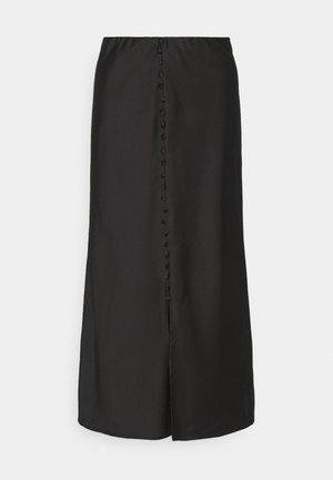 INA SKIRT - Áčková sukně - black