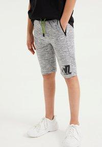 WE Fashion - SALTY DOG - Tracksuit bottoms - grey - 1