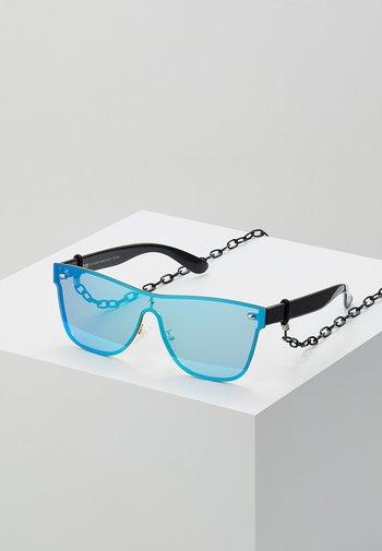 SUNGLASSES - Sunglasses - black/blue