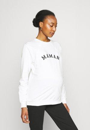 NURSING MAMAN - Sweatshirt - off white
