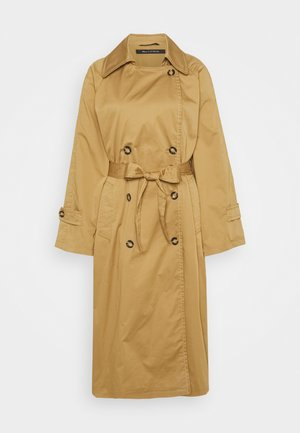 FLUENT LINED CONTAST STITCHINGS - Trenchcoat - sand
