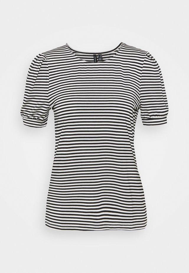 VMKATE - T-shirt print - black/white