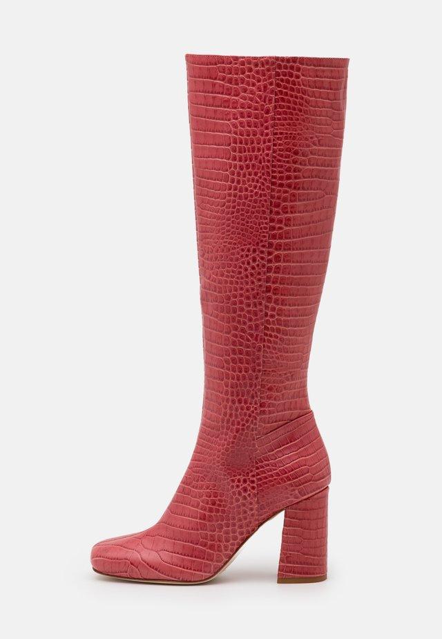 STIVALE TACCO ALTO - High heeled boots - peach blossom
