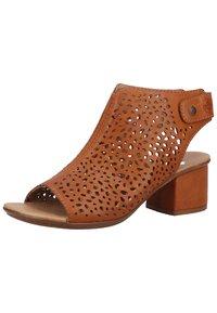 Rieker - Ankle cuff sandals - cayenne - 1