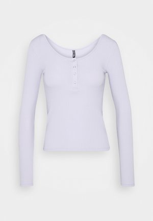 PCKITTE - Topper langermet - purple heather