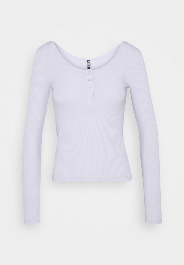 PCKITTE  - Langærmede T-shirts - purple heather